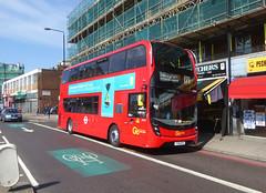 GAL EH231 - YX18KPZ - PECKHAM HIGH STREET - THUR 6TH SEPT 2018 (Bexleybus) Tags: goahead go ahead london hybrid tfl route adl dennis enviro 400 mmc 171 eh231 yx18kpz peckham high street