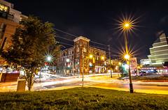 September 22, 2018. (Amanda Catching) Tags: today longexposure light city skyline toronto traffic night parkdale