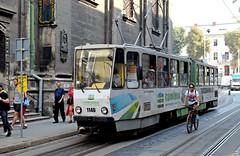 LVIV - TATRA (Maikel L.) Tags: europa europe ukraine ukraina lwiw lwów lviv lvov україна украина львів львoв tatra tram strasenbahn publictransport verkehr traffic bahn tramway urban city stadt streetcar trolleycar