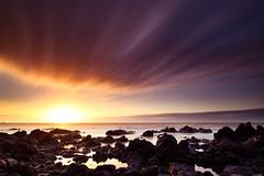 The wave (Rico the noob) Tags: 2018 rock d850 landscape sunset nature water outdoor stones clouds longexposure beach ocean published 20mm tenerife sun dof sky sea teneriffa coast rocks 20mmf18