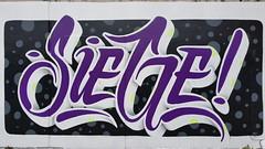 Siege... (colourourcity) Tags: melbourne melbournestreetart graffiti streetart streetartaustralia streetartnow burncity colourourcity awesome nofilters notforlikes siege siegeone siege1 acm artcrushmob