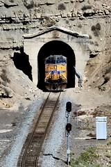 Tunnel Portal (Laurence's Pictures) Tags: rain rail railroad traincation train trip 2018 utah freight soldier summit rio grande western union pacific transportation us 6