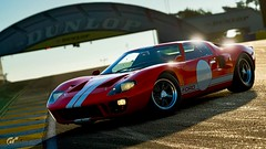 Ferrari Hunter (chumako@bellsouth.net) Tags: racecar ford gt40 red lemans track racetrack playstation ps4 gt sport gtsport scapes gaming