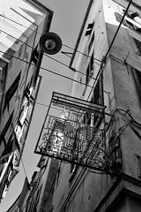 la bella citta genova liguria (michael_obst) Tags: liguria genua genova bellaitalia street building bnw monochrome samyang 35mm bluefilter sky