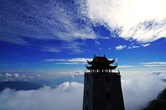 Pagoda above the clouds, Fansipan, Vietnam (Andrey Sulitskiy) Tags: fansipan vietnam sapa