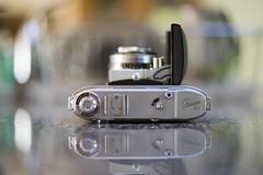 Clamshell (vtom61) Tags: kodak retinaiic vintage camera sonya7r supertakumar50mmf14 eightelement bokeh