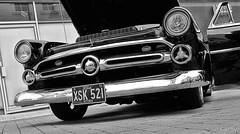 1952 Ford Victoria XSK 521 (BIKEPILOT, Thx for + 4,000,000 views) Tags: 1952 ford victoria xsk521 aldershotcarshow aldershot hampshire uk england britain carshow car automobile vehicle transport classic vintage photoshop photoshopped blackwhite bw monchrome americana