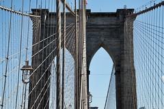Brooklyn Bridge, Lower Manhattan, NY (AperturePaul) Tags: historic newyorkcity newyork unitedstates america manhattan nikon d600 brooklynbridge bridge landmark architecture lowermanhattan