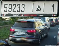 59233-1 (XBXG) Tags: rabat marokko maroc morocco audi sq7 amstelveen nederland netherlands holland paysbas license plate kenteken plaque immatriculation immat الرباط المغرب