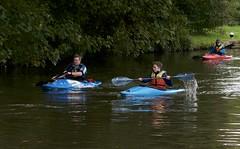 Sunday Canoe School on the Grand Union Canal (IanAWood) Tags: eyesofnikon hertfordshire nikkorafs85mmf14g nikond300 nikondx rickmansworth streetphotography theaquadrome walkinwithmynikon