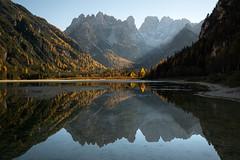 Autumn light (Nicolas Rottiers) Tags: dolomites italie