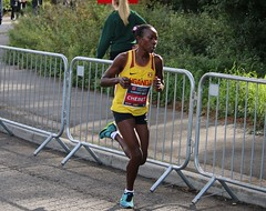 Emily Chebet - Commonwealth Half Marathon (Sum_of_Marc) Tags: half marathon cardiff 2018 october commonwealth champs championships run running sport athletics runner runners uk wales caerdydd cymru race roath park roathpark road uganda ugandan chebet