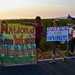 Sunrise over the fields at Familias Unidas por la Justicia March
