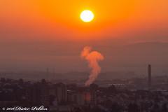 Sonnenaufgang über Wittlich (pohlenthe49er) Tags: deutschland rheinlandpfalz wittlich sonnenaufgang morgen stimmung