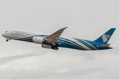 Oman Air (Ychocky) Tags: 150500mmf563 a4osc boeing7879dreamliner egll lhr londonheathrow omanair sigma