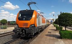 E1406, Marrakech,  11 Oct 2018 (Mr Joseph Bloggs) Tags: morocco marrakech train teno bahn railway railroad alstom 1406 e1406 oncf casablanca prima primaii e1256
