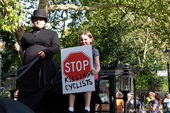 Funeral for the Unknown Cyclist - 13 October 2018 (The Weekly Bull) Tags: climatechange london parliament stopkillingcyclists uk asthma campaigning cycling cyclists demonstration diein diesel funeral lungdisease pollution procession protest roadsafety transport