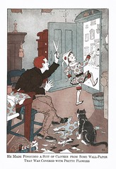 Page 39: Pretty Flowers (The Right Reverend Ferris) Tags: pinocchio illustration childrensbooks artdeco
