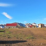 Iceland - Iceland ~ Landmannalaugar Route ~  Ultramarathon is held on the route each July -  Camp Site - Supplies thumbnail