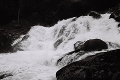 Norway, water (no.sad.tomorrow) Tags: travel traveling trip traveler backpacker norway norde water waterfall filmphotography yashika ilford