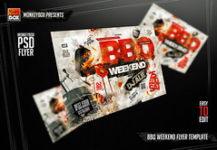 BBQ Weekend Flyer Template (AndyDreamm) Tags: 4thofjuly bar barbecue bbq bbqparty beachparty cookout food foods fourthofjuly green grill grillparty holidayparty hot ivy kebabparty park party patioparty pub restaurant rustic steak summer sun wood