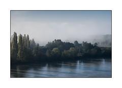 Bord de Seine dans la brume (SiouXie's) Tags: couleur color fuji fujifilm fujixe2 55200 siouxies duclair seine bord paysage landscape nature brume
