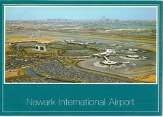 New Jersey - Newark International Airport - TO TRADE (bdsuss) Tags: airport newjersey postcard