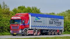 XV89434 (18.05.08, Motorvej 501, Viby J)DSC_7547_Balancer (Lav Ulv) Tags: 247865 r580 v8 highline r6 euro6 e6 6x2 red walkingfloor amttrailer scania rseries pgrseries scaniarseries henrikpoulsen frederikshavnbulkterminal driveremil portoffrederikshavn 2015 truck truckphoto truckspotter traffic trafik verkehr cabover street road strasse vej commercialvehicles erhvervskøretøjer danmark denmark dänemark danishhauliers danskefirmaer danskevognmænd vehicle køretøj aarhus lkw lastbil lastvogn camion vehicule coe danemark danimarca lorry autocarra danoise vrachtwagen motorway autobahn motorvej vibyj highway hiway autostrada trækker hauler zugmaschine tractorunit tractor artic articulated semi sattelzug auflieger trailer sattelschlepper vogntog oplegger