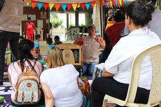 Parque al Barrio - Carpa Literaria