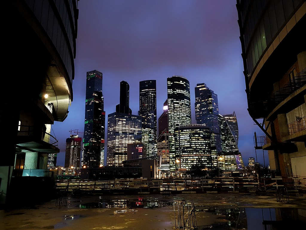 фото: Moscow-City. Night