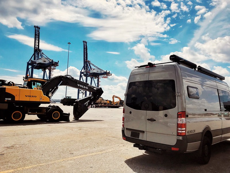 Shipping our vehicle overseas to Europe.