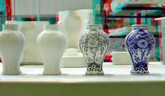 Delfs-Blue  De Porceleyne Fles Delft 3D (wim hoppenbrouwers) Tags: delfsblue deporceleynefles delft 3d anaglyph stereo redcyan