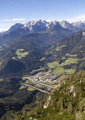 Salzach River (noname_clark) Tags: vacation europe austria salzachriver river town water mountain tenneck eisriesenwelt werfen