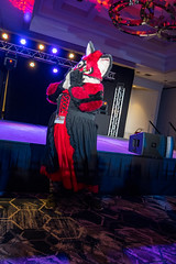 DSC08991 (Kory / Leo Nardo) Tags: pacanthro pawcon paw con pac anthro convention fur furry fursuit suiting mascot sona fursona san jose doubletree hotel california dance party deck animals costuming pupleo 2018