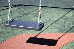 playgound shadows (Wanda Amos@Old Bar) Tags: wandaamos playground shadows patterns swing