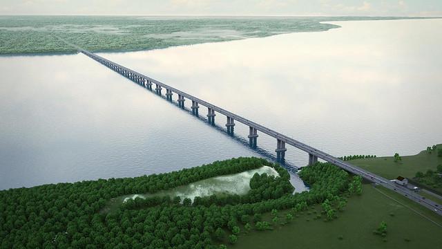 На выкуп земли под мост через Волгу в Шигонском районе потратят сотни миллионов рублей
