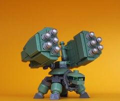 Special Weapons Turtle (Legoloverman) Tags: lego robot turtle