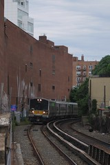 Main Street (CrispyBassist) Tags: railroad railway train track transit nyc newyork newyorkcity queens flushing lirr