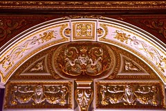 Color and light.  In perfectly granular detail.  Residenz, Treves Rooms (Inspired Snob) Tags: coolshot spandrel soffit arch transom archway mannerism renaissance baroque detail trevesrooms residenz germany bavaria munich