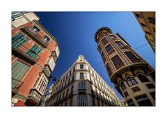 Calle Sagasta, Malaga (Olivier Faugeras) Tags: espagne malaga andalousie andalucía andalousia spain 10mm pentax