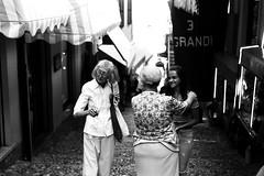 The 3 Grandi (Leica M6) (stefankamert) Tags: stefankamert grandi woman film analog grain street bellagio italy leica m6 leicam6 summicron dr dualrange kodak trix noir noiretblanc blackandwhite blackwhite city