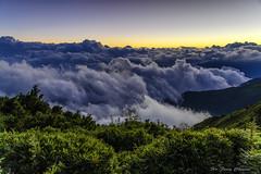 夕陽_DSC6214N (何鳳娟) Tags: 夜景 風景 合歡山 合歡主峰 合歡山主峰登山步道 海拔3417公尺 山岳 日落 夕陽