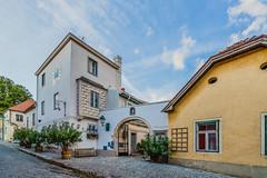 the Turmhof anno 1549 (a7m2) Tags: turmhof hotel travel tourismus weinort gumpoldskirchen loweraustria austria weinkultur winzer heurigenlokale wein winevillage