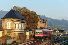 628 563, RB Goslar - Braunschweig Hbf, Goslar (Gunar Kaune) Tags: 628 goslar stellwerk db