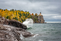 Split Rock Lighthouse (RiverBum - MN) Tags: colors northshore fall statepark splitrocklighthouse