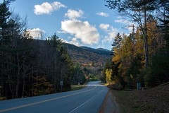 (czwallace) Tags: rebelxsi canon450d canon leaves foliage fall windingroad road trees mountains mountain whitemountains newengland 603 newhampshire nh