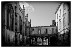 Peterhouse Cambridge In B&W (Andrew David Photos) Tags: peterhouse gothic cambridge universityofcambridge peterhousecollege blackandwhite dxo dxophotolab flickr mono 1855mmf3556