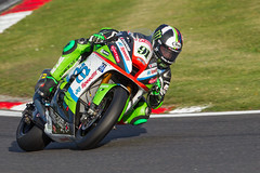 #91 Leon Haslam (PINNACLE PHOTO) Tags: bsb leo haslam 91 champion winner 2018 kawasaki green pocket rocket brands hatch kent rubbish fences gp circuit ruined shame quick motorbike racer fast