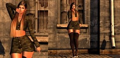 #518 Here To Takeover.. (|| Bonnii Hendes || Blogger || Decorator) Tags: doux mon cheri uber blush black fair pose maniacs empire