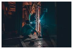 DSC_4102 (coeus197) Tags: art work light exposure working people welder steel wool steelwool